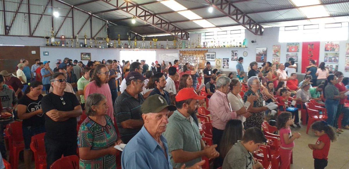 XXXIV Encontro Estadual do MST Assentamento 25 de Maio Abelardo Luz - SINDASPI-SC